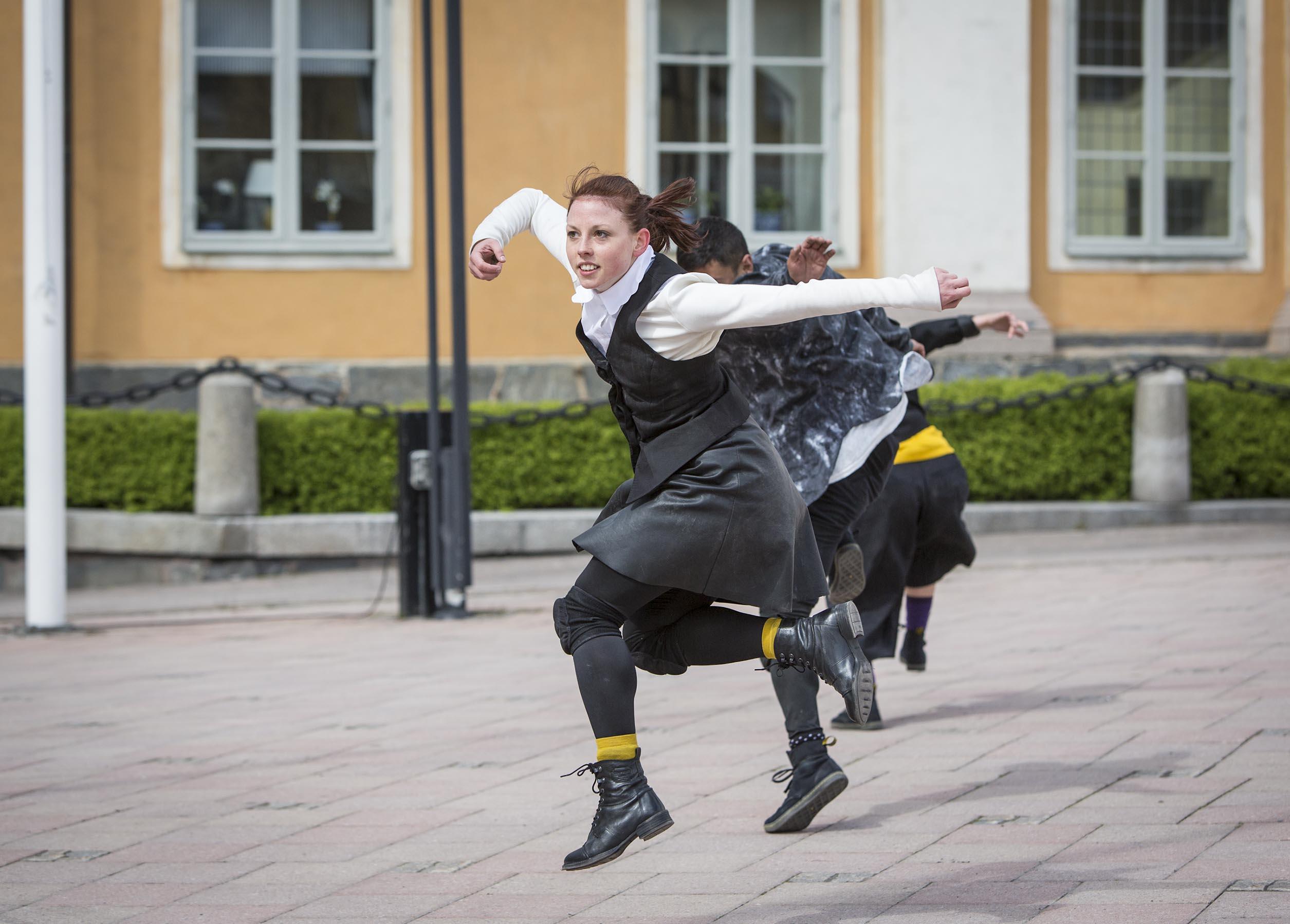 SJU GÅNGER SJU , NORRDANS sommar tuné program 2014